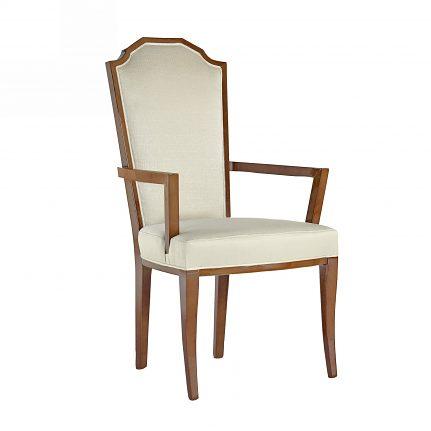 Čalúnená stolička s opierkami 1066-C