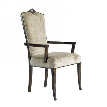 Čalúnená stolička s opierkami 1056-C