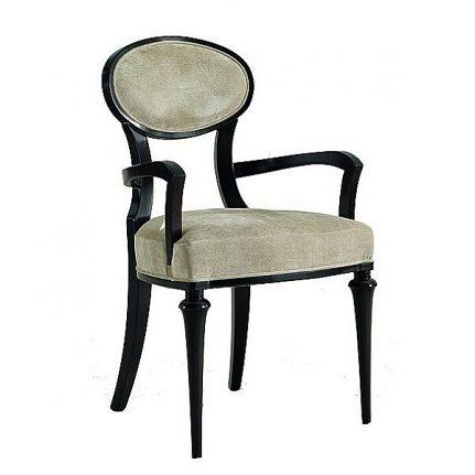 Čalúnená stolička s opierkami 1058-C