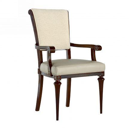 Čalúnená stolička s opierkami 1068-C