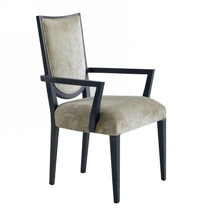 Čalúnená stolička s opierkami 1057-C
