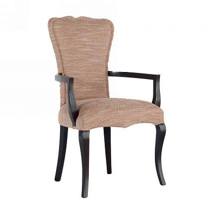 Čalúnená stolička s opierkami 1062-C