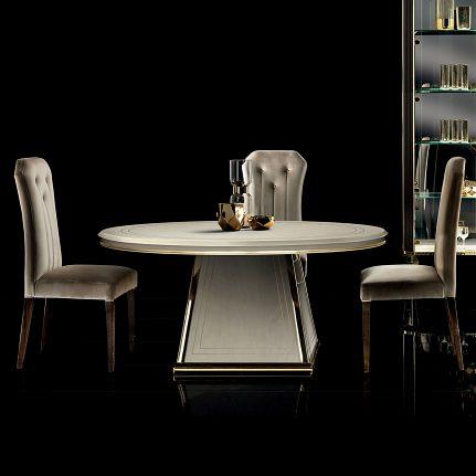 Jedálenský stôl ARC Diamante round