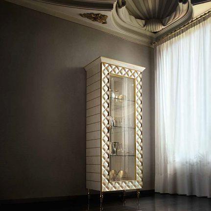 Presklená vitrína ARC Sipario 1dv