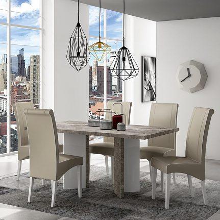 Jedálenský stôl ST ERTRWHTA01
