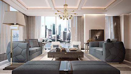 Obývačková zostava Sanghai 1