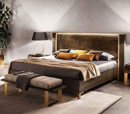 Manželská posteľ ARC Essenza art.30